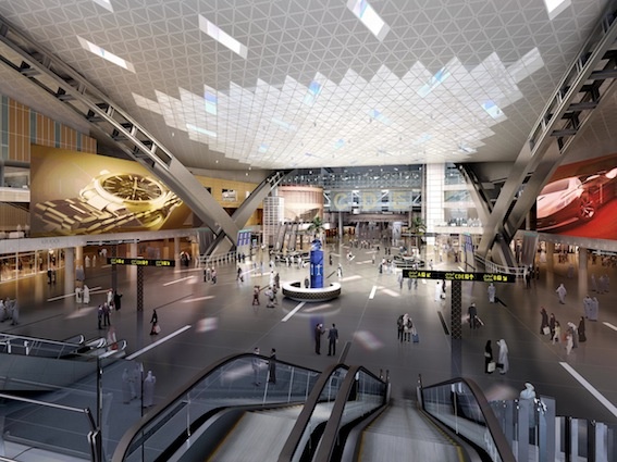 Pic 04 New Doha International Airport Main Terminal Interior