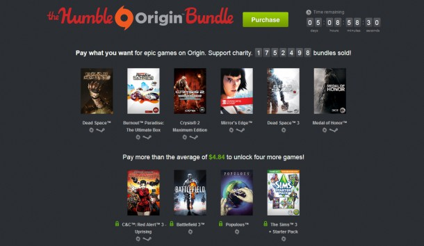 humble bundle origins