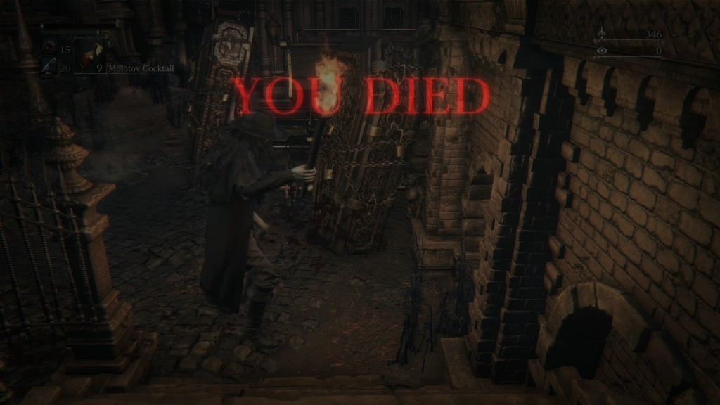 Bloodborne death